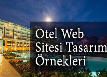 Otel web sitesi tasarımı örnekleri